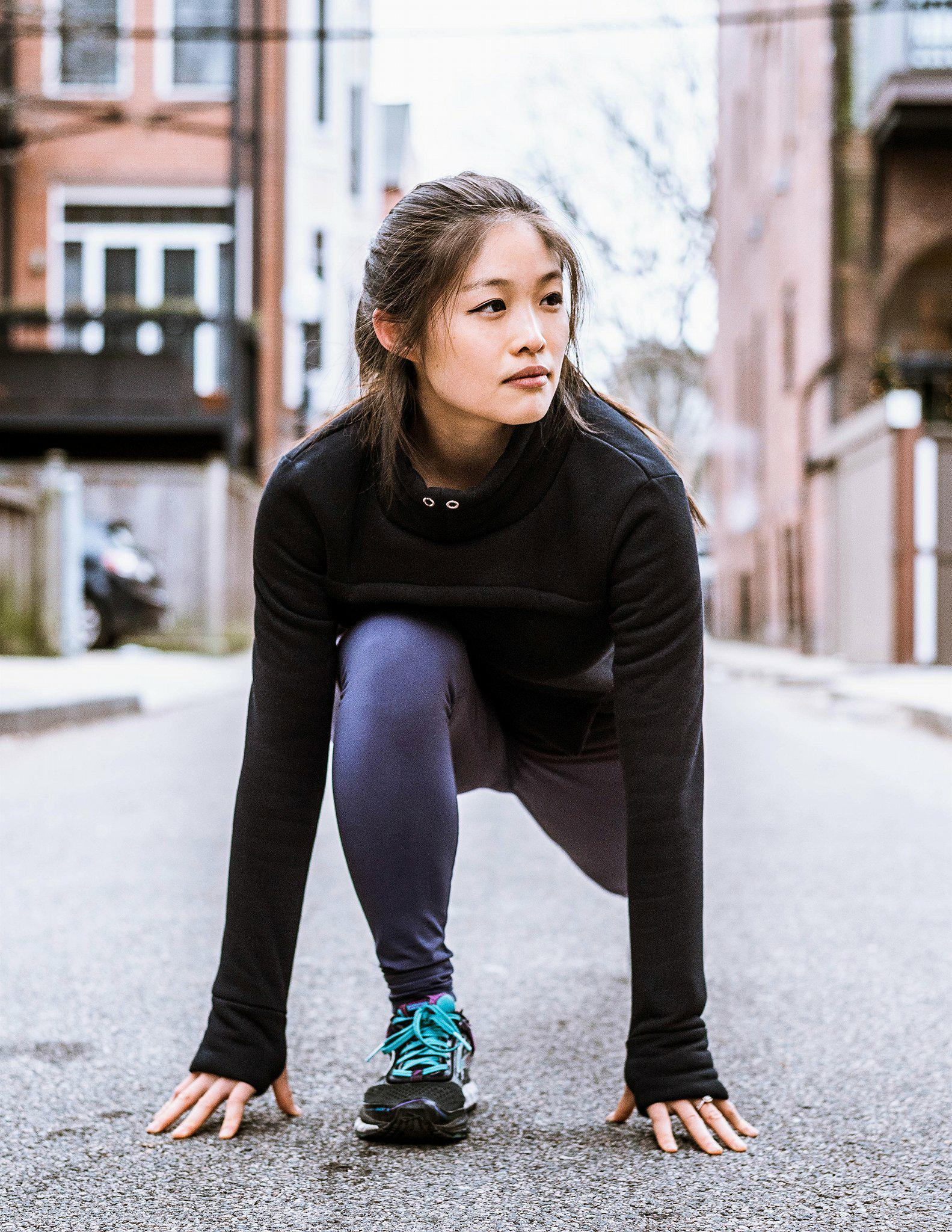 How to Dress for Winter Running - by Christie Wang