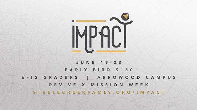 Not registered for IMPACT yet? Click the link in our bio to do so now. We have partnerships with Autism Charlotte, Meals on wheels, One7 and more!! Camp Cannan on Saturday for some Archery tag and a day at the pool. Late night bowling and great sessions. Tag a friend you want to see there.