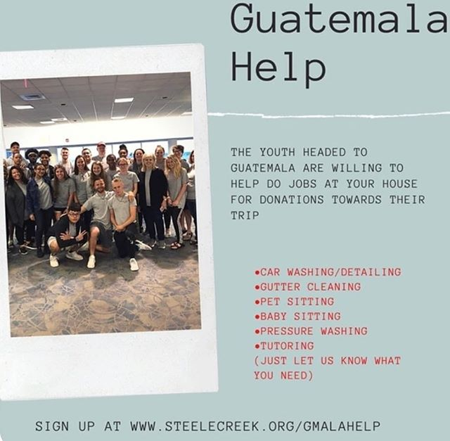 Help support your Guatemala  Team!