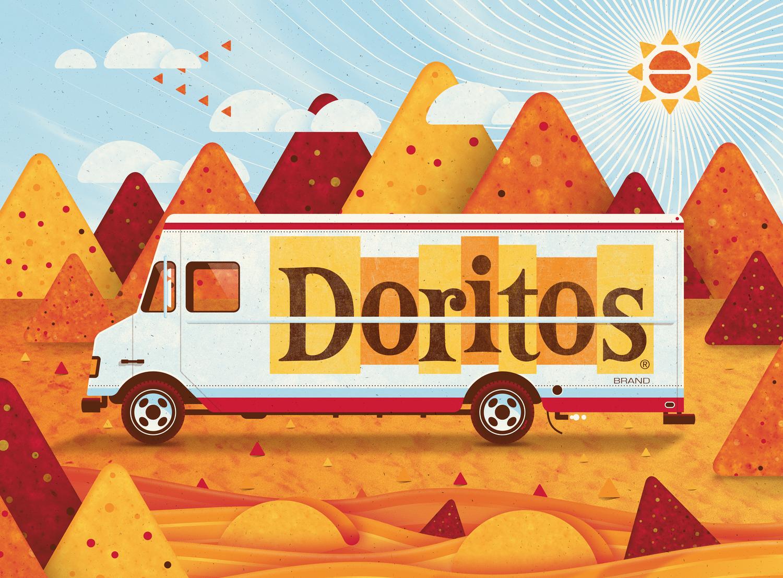 Doritos Art Print    by    DKNG    Studios
