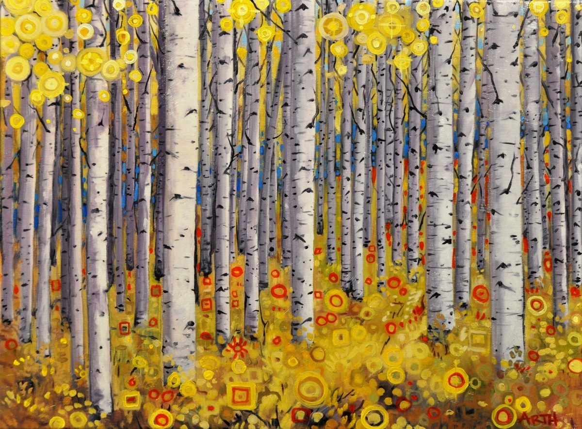 """Aspens""  by Gregory Arth"