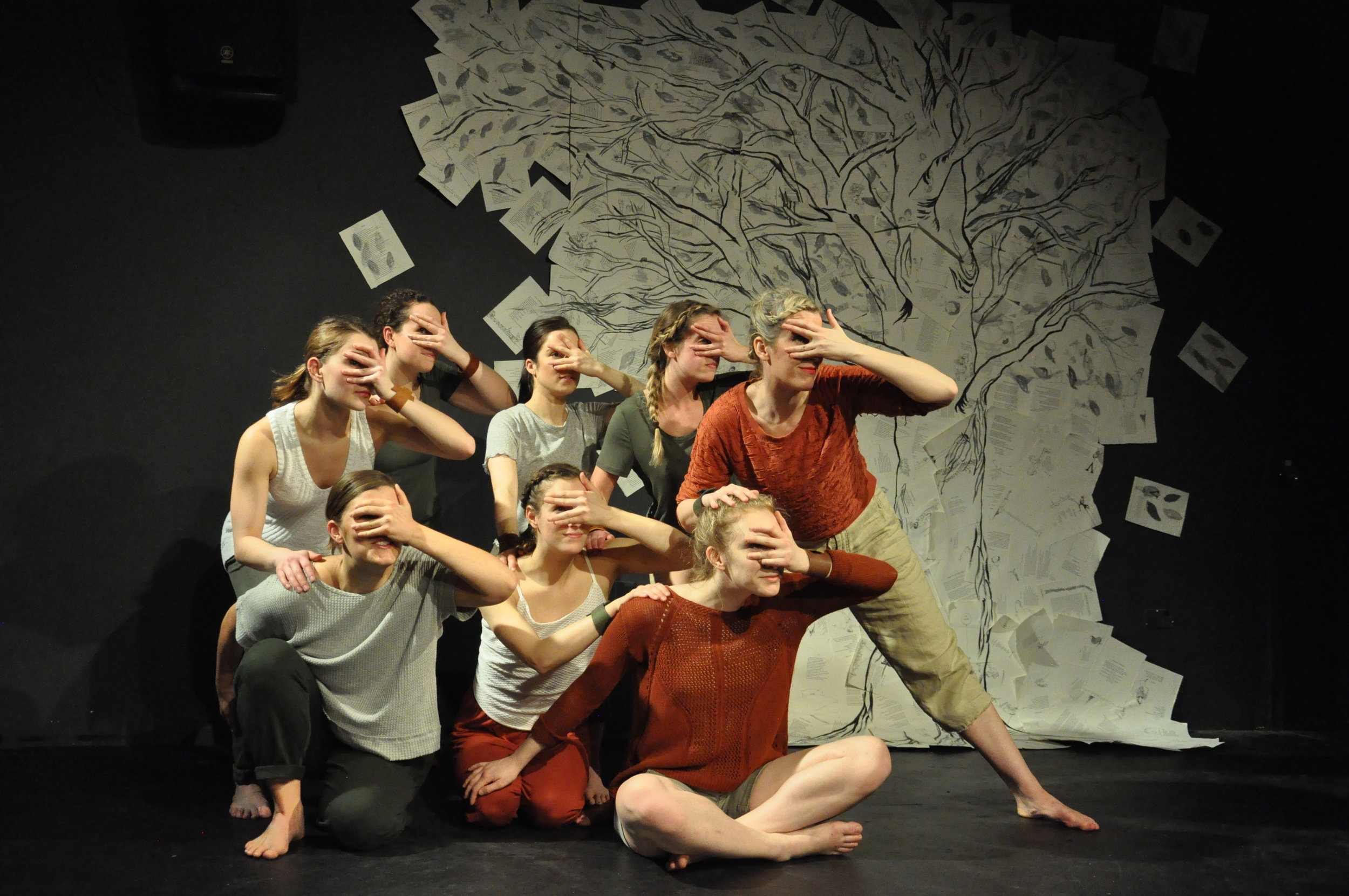 A RE-IMAGINED story  - of dependency and strength communicated through athletic and intricate choreography.