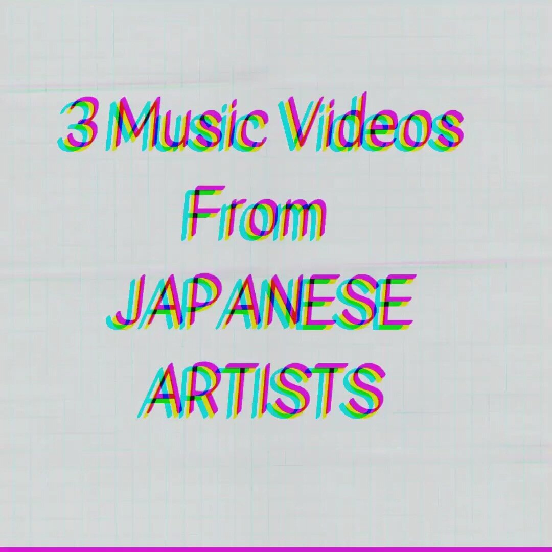 - 3 music videos from Japanese artists that we dig. The vibes hit the spot, embodying a hipness and mood that's difficult to find. Hats off to all the music artists and creators of these videos :)