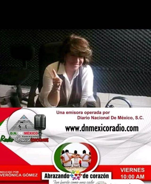 Mañana estaremos con Vivi platicando de Andrés en Estéreo.  Pongan recordatorio y escúchenos y veamos a las 10am  por internet:www.dnmexicoradio.com #elamorseescucha 💙🎧