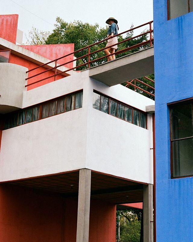 La Casa Estudio Diego Riviera part 3. #35mm #architecturephotography #linkinbio