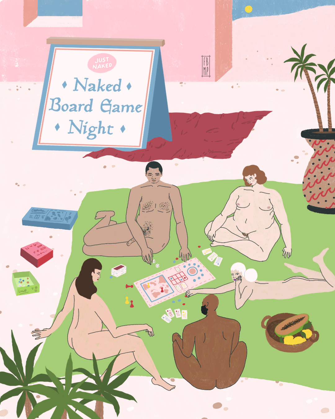 Just naked nyc board game