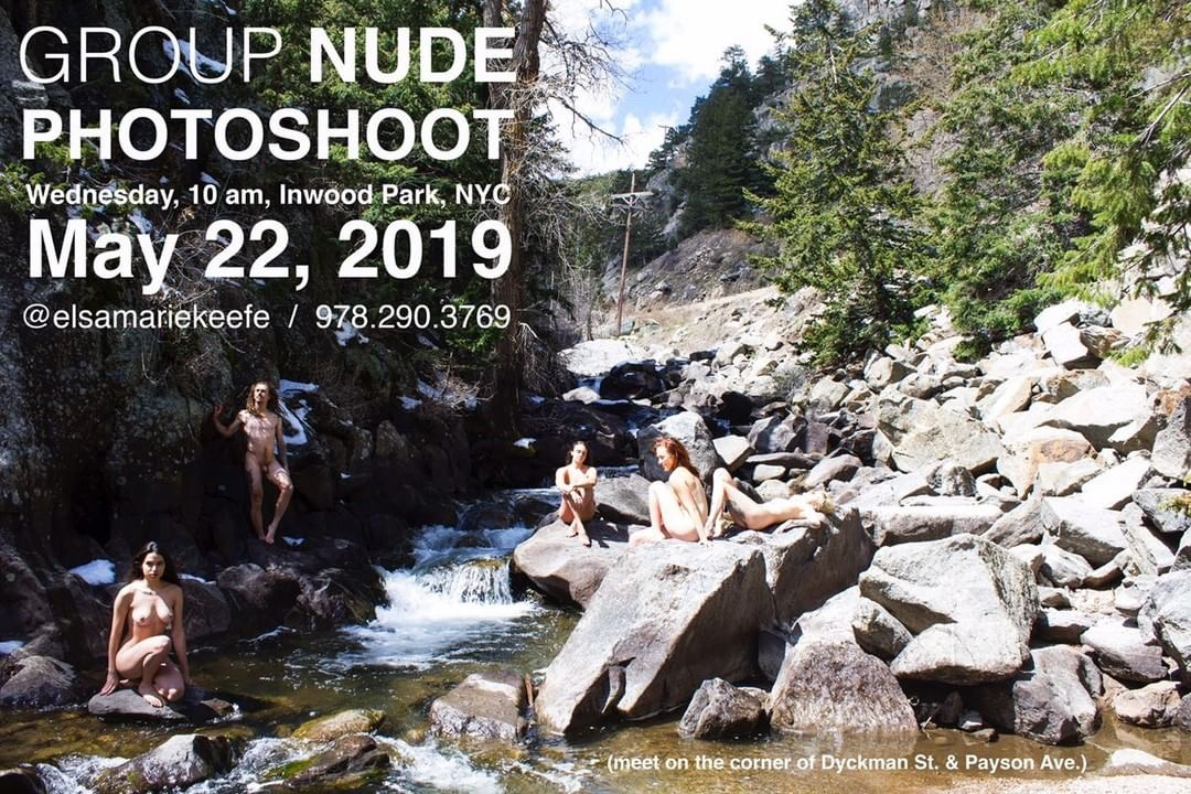 Just Nakd Nyc Naked Shooting