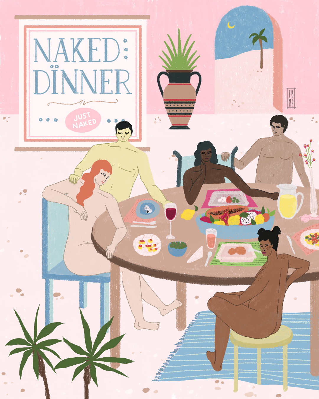 naked dinner nyc just naked
