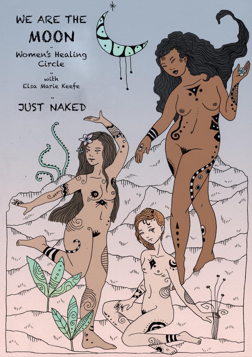womens circle just naked nyc