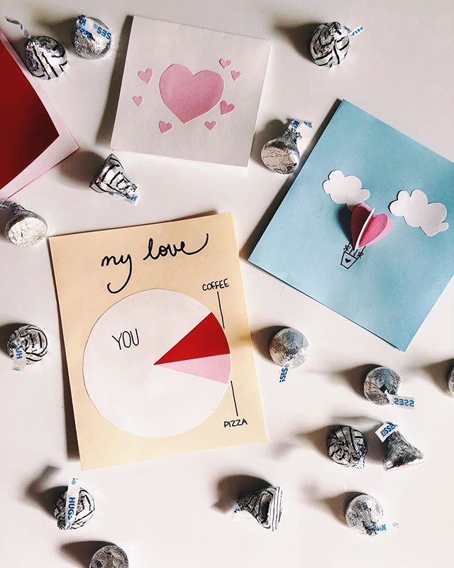 Valentine's Day ready with our handmade cards 💕 #HappyValentinesDay