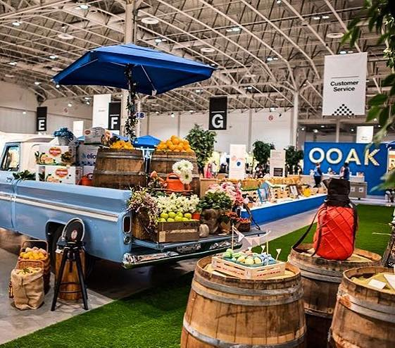 we're sad to say there are only two more days to visit @ooak_toronto's Spring Show! Spring is in the air and we're loving it #ooak19 🍑🍋🍐