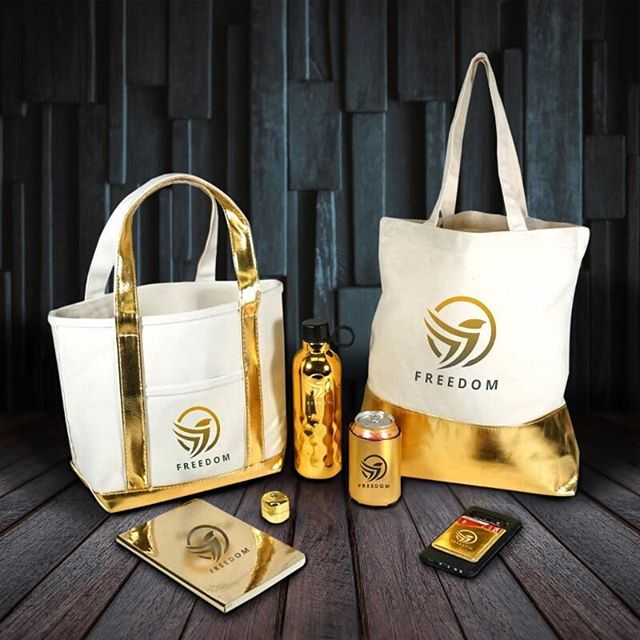 Solid Gold. Metallic #promotionalproducts have been trending all year. Therefore we put together a unique #tradeshow #giveaway collection that has a little something for everybody. The gold, shiny accents definitely catch the eye and are bound to make it far beyond their initial use at the #conference. See the whole collection: http://bit.ly/2Nrzlhw #metallic #conference #eventplanner #eventmanagement #tradeshow