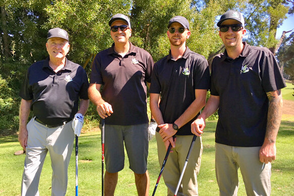 Team K&D Landscaping with Justin White, Central Coast president