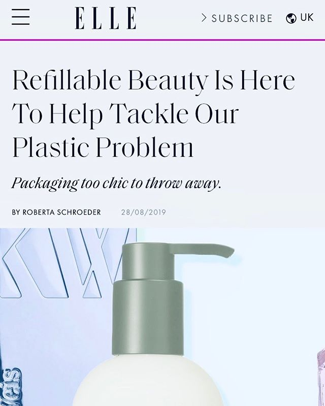 """So happy to share this article today, as it is on a topic near and dear to my heart. I remember a conversation I had with one of my first bosses more than 15 years ago like it was yesterday. Me: if you really want to make a difference, make refillable packaging. Boss: hahahahahahahahahahahahahahahahahahahahahahahahahahahahahaha. Why would we do that, blah blah etc. 😡. Jokes on them 😂😂. ⠀⠀⠀⠀⠀⠀⠀⠀⠀ 15 years later, its happening at an alarming rate; polar ice caps melting, sea levels rising, AQI off the charts, and plastic accumulation that is daunting. 🤦🏼♀️🤦🏼♀️🤦🏼♀️ Did you know that 8 million tons of plastic are dumped into the ocean each year, and that 30-40% of it are beauty related? Did you also know that more than 80% of beauty packaging today can't be recycled without special processing? (This means unless you work with a specialized company like @terracycle, your """"recycled"""" plastic goes to the landfill without you knowing). 💯 I work with a lot of skincare start-ups and spend a considerable amount of time coaching CEOs and founders on the importance of driving change in sustainability efforts by being the change. 🙌🙌🙌 This article by @ellemagazineuk sheds light on the changes that major skincare players are making to improve sustainability efforts and is a very interesting read. If you are joining the beauty industry as a founder, and launching your dream brand to the world, I humbly ask that you consider sustainability starting now- from the ground up- while it is easy and you can still make great choices without overhauling thousands of units at a time. Do it with actual actions, and not just to be on trend. If you would like to chat about ways to do it, please send a DM, I would love to share. Not only will you be doing the most responsible thing possible for the planet, you will also set your emerging brand for success by tapping into the consciousness of your current consumer.  @skinbyamethyst @margaretcoiscou"""