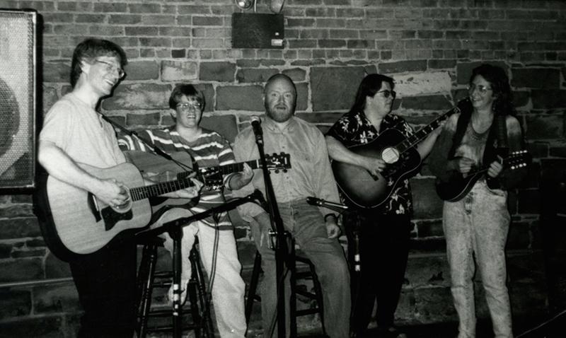 Open Mic Crew Circa the 1990s
