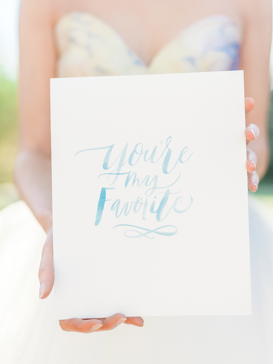 Watercolor Brush Lettering Quote
