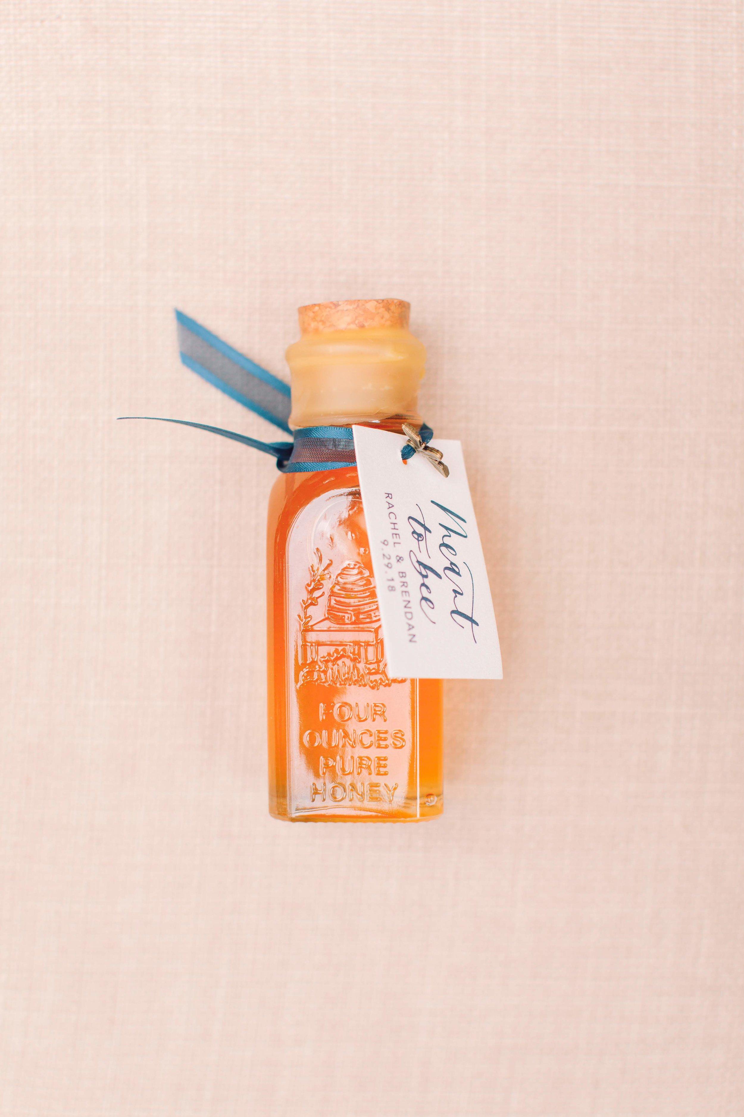 Sweet Honey Wedding Favor