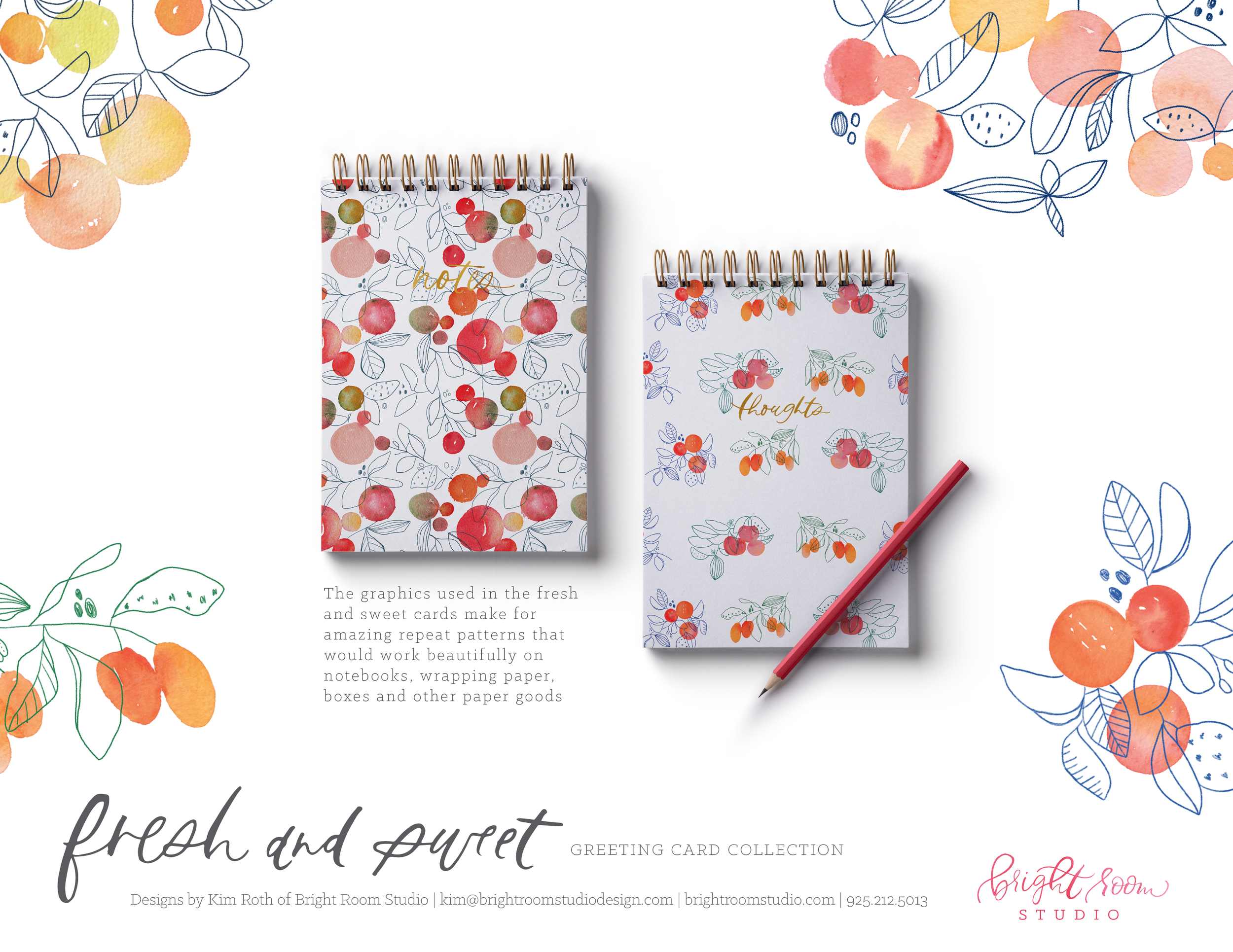 Watercolor and Illustration Notepads