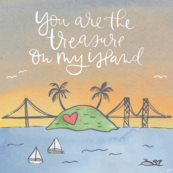 Treasure Island Valentine