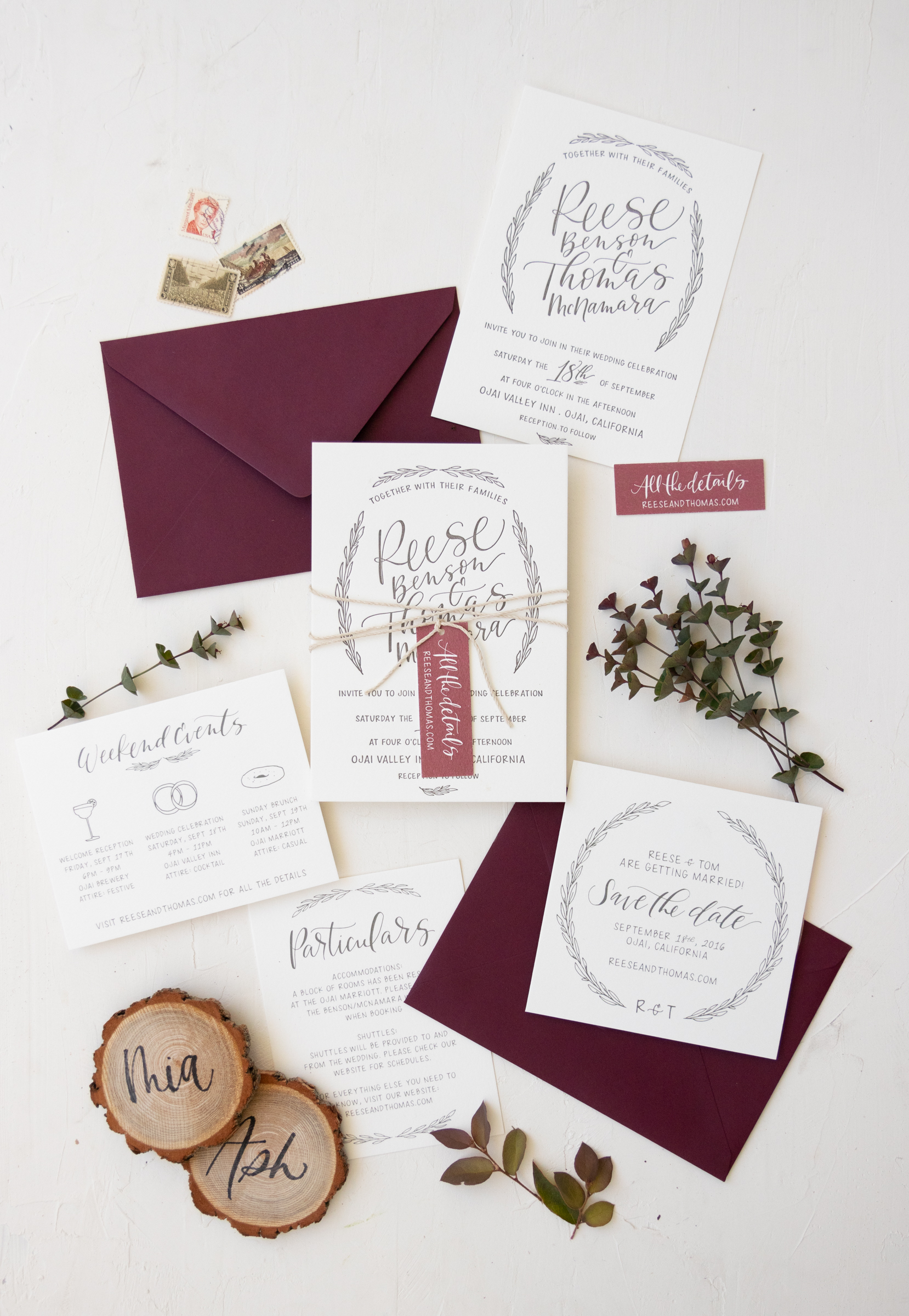 rustic fall wedding invitation from bright room studio.jpg