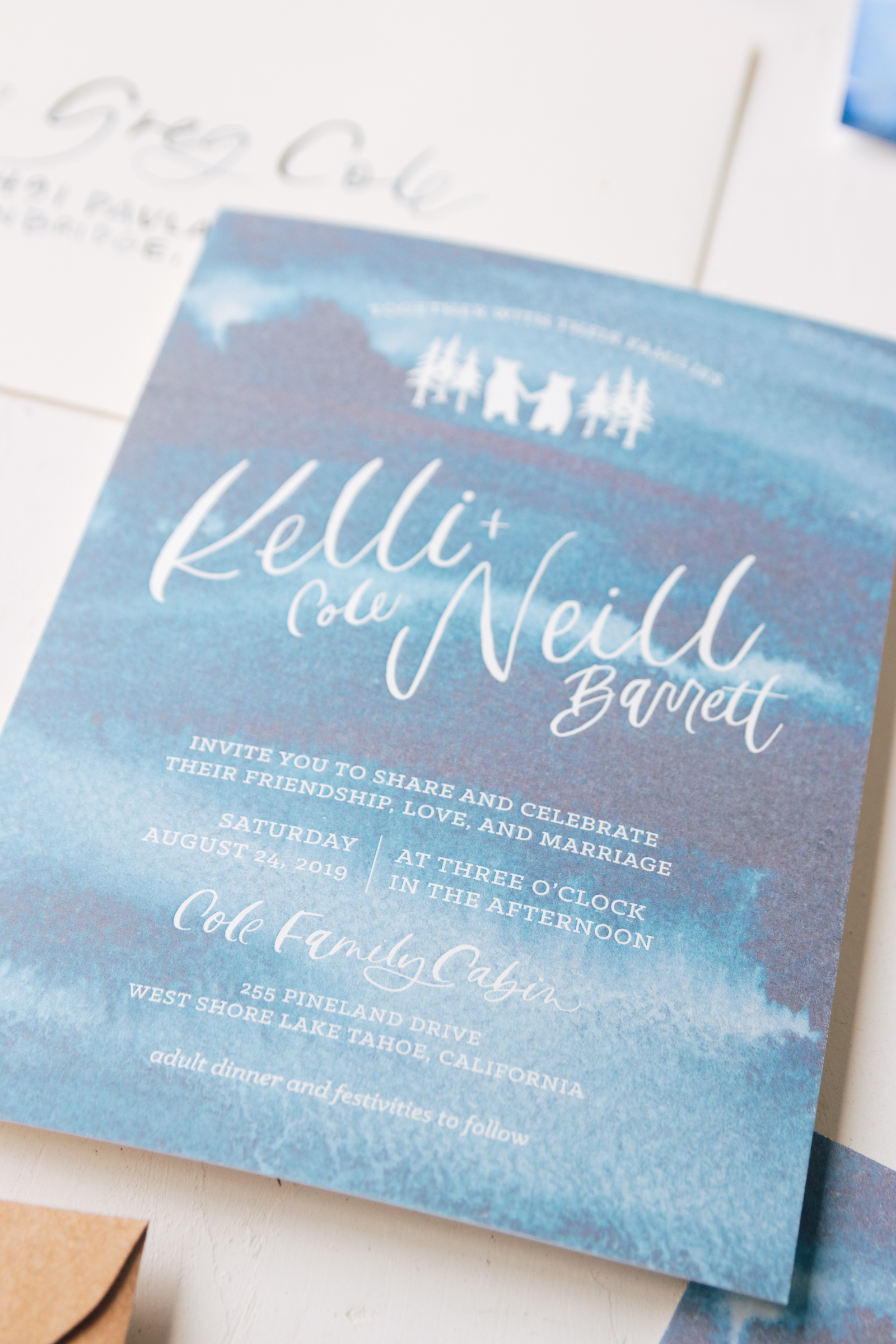 Wedding Invitation Wording Ideas from Bright Room Studio