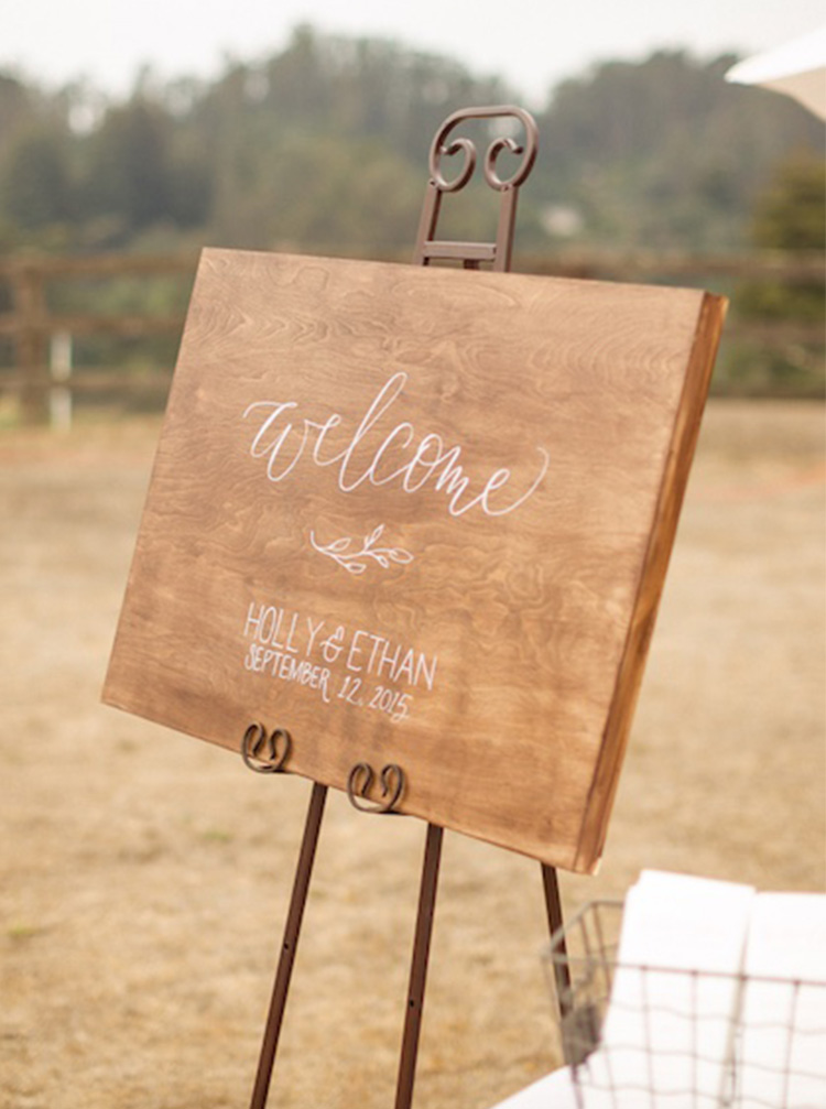 Welcome Sign by Bright Room Studio