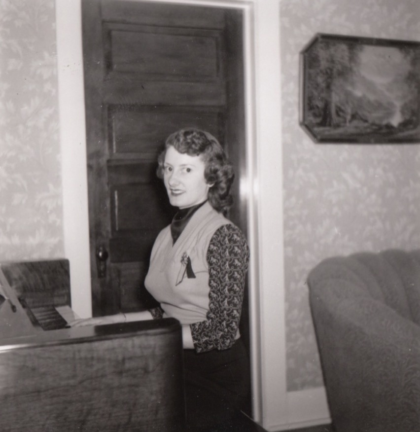 Maxine Ruth Henderson born the first year of the Great Depression April 22, 2019.