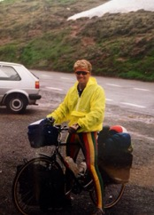 Mark Henderson Bicycle Tour Europe circa 1988 pedaling 3,600 kilometers and visiting 12 countries…
