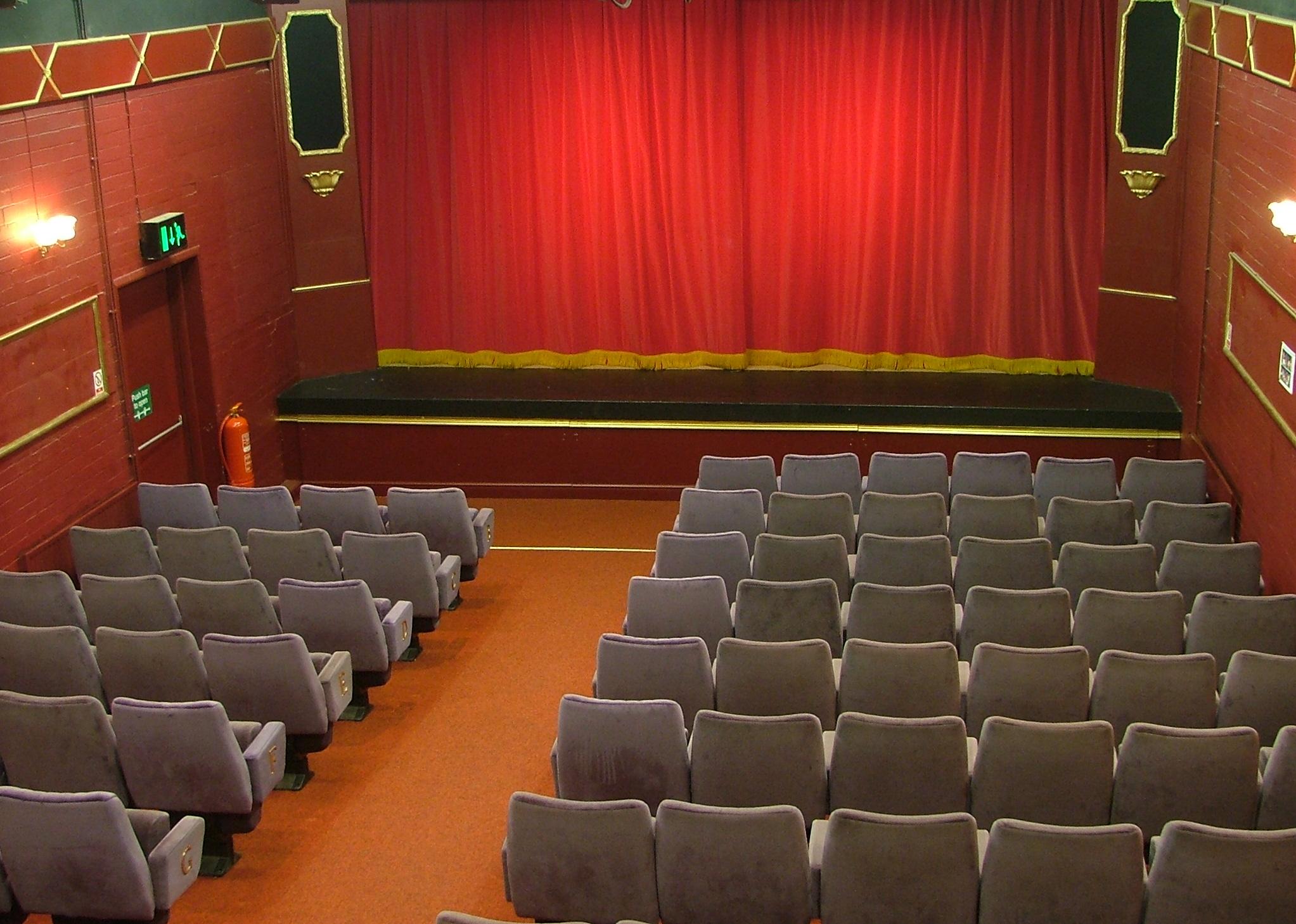 The Playhouse Auditorium following it's Refurbishment