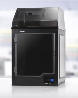 Zortrax M300+ 3D Printer shown with optional HEPA filter