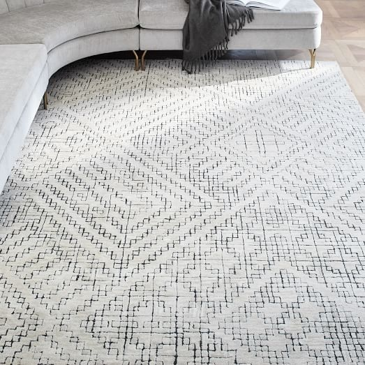 Stone Tile Rug - West Elm