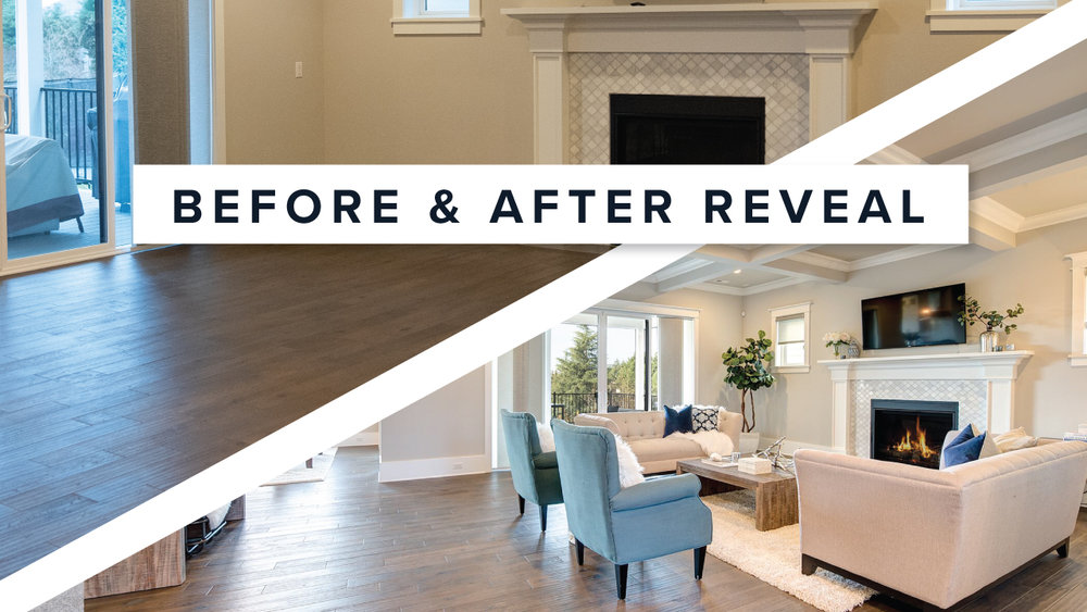 Why Home Staging Matters Maple Main, Living Room Staging A House Before And After