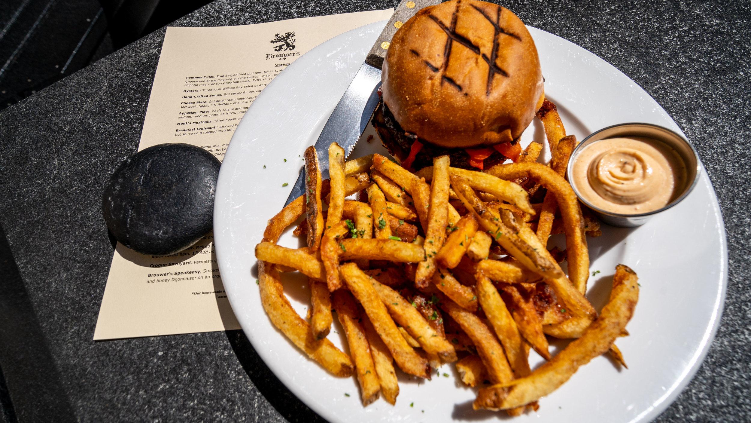 Brouwers lamb burger and dragon sauce.jpg