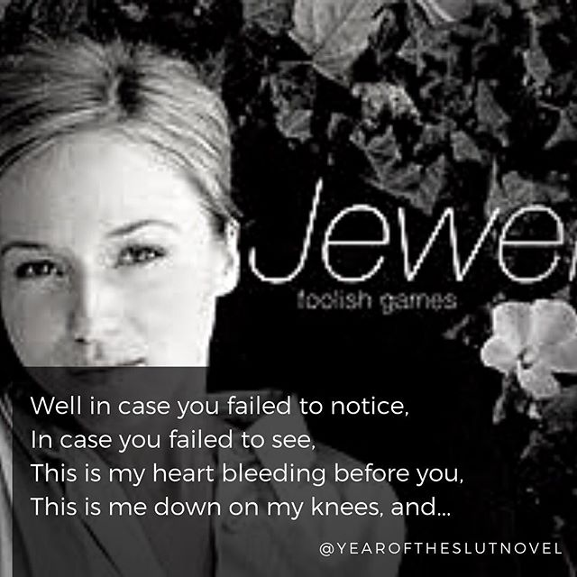 #musicmonday @jewel #foolishgames Who can relate to this one?? . . . . . . #yearoftheslut #yearoftheslutnovel #YOTS #jenniferlieberman #moresexlesscity #guiltypleasure #soseductive #womensfiction #sexybook #sexybooks #femalesexuality #romancenovel #romancebook #romancebooks #romancereads #romancenovels #eroticwriter #eroticwriting #sexyart #love #heartbreak #heartache #authorsofinstagram #writersofinstagram #amazonfinds #kindleunlimited