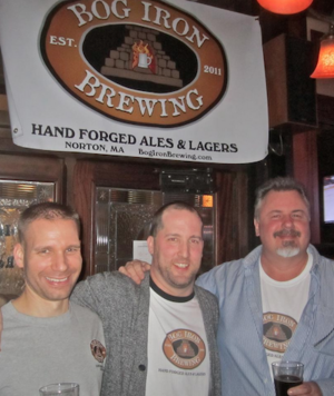 Bog Iron founders Matt, Brian and Frank