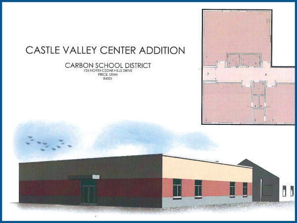 Carbon School District  Castle Valley Center Addition  — Price, UT  Under Construction