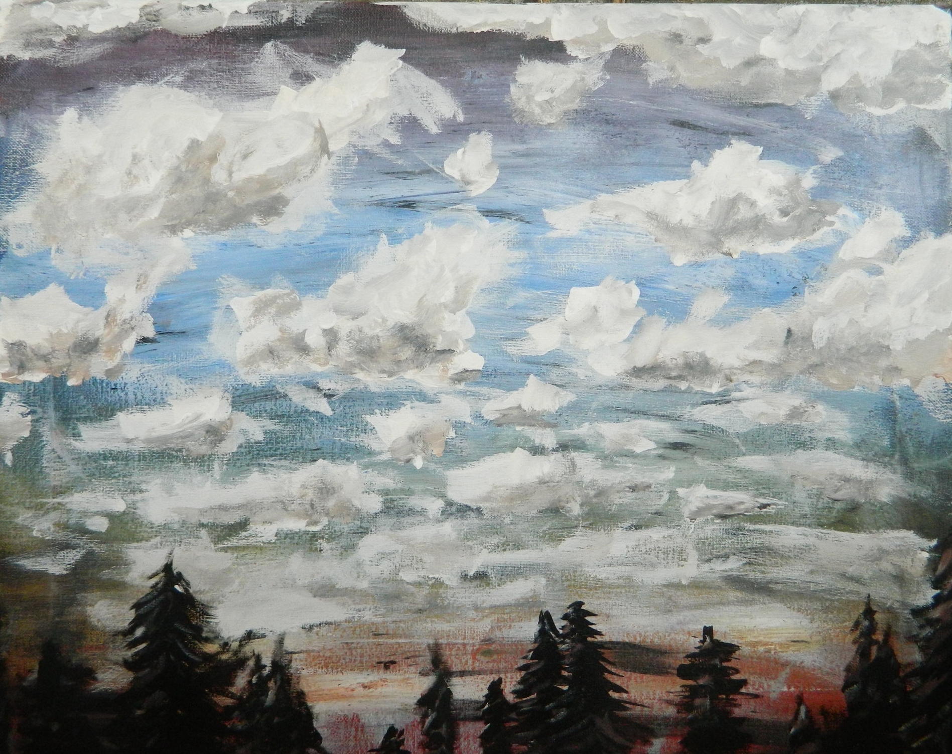 Up North  Acrylic on Canvas  2016