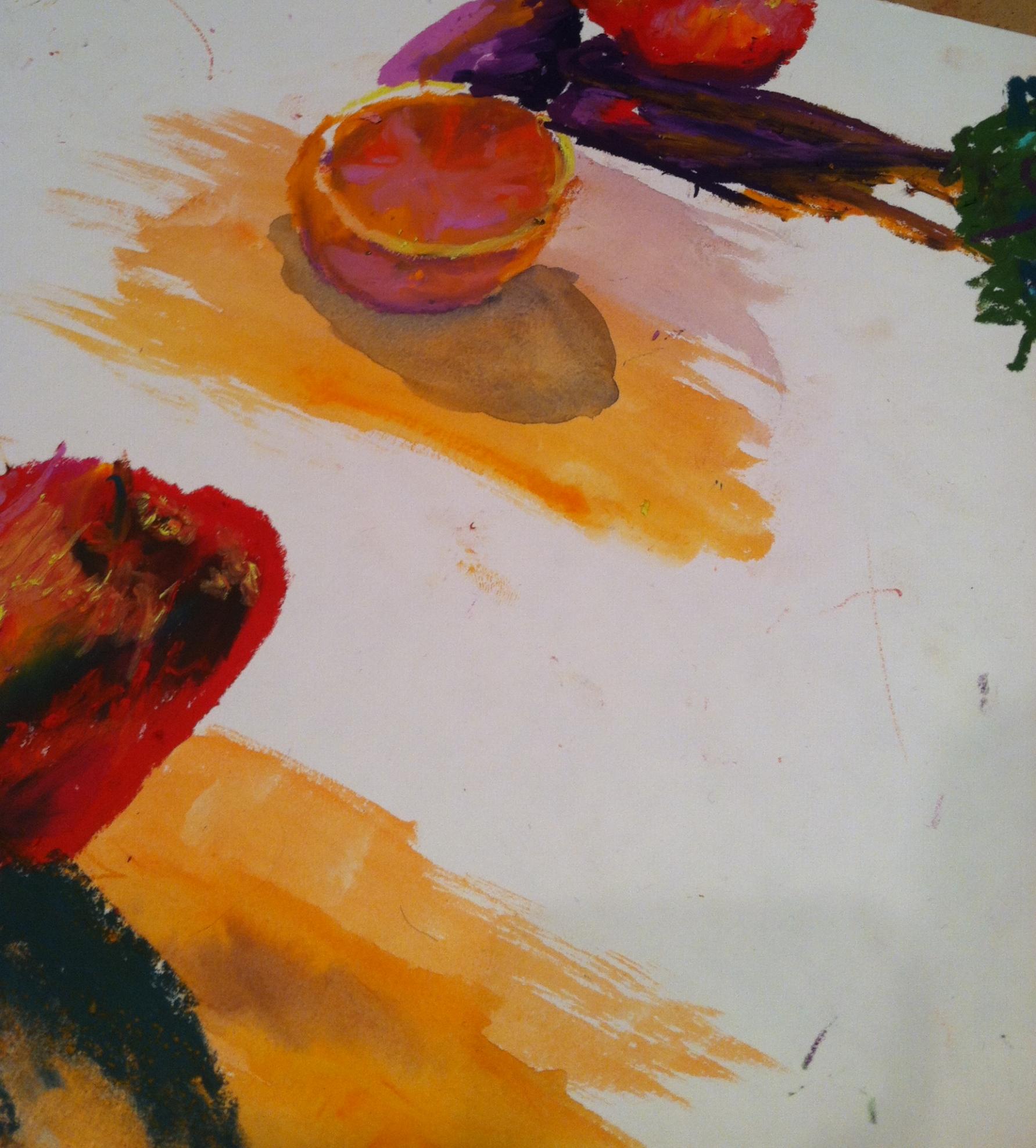 Oil Pastel Practice  Oil Pastel on Paper  2015