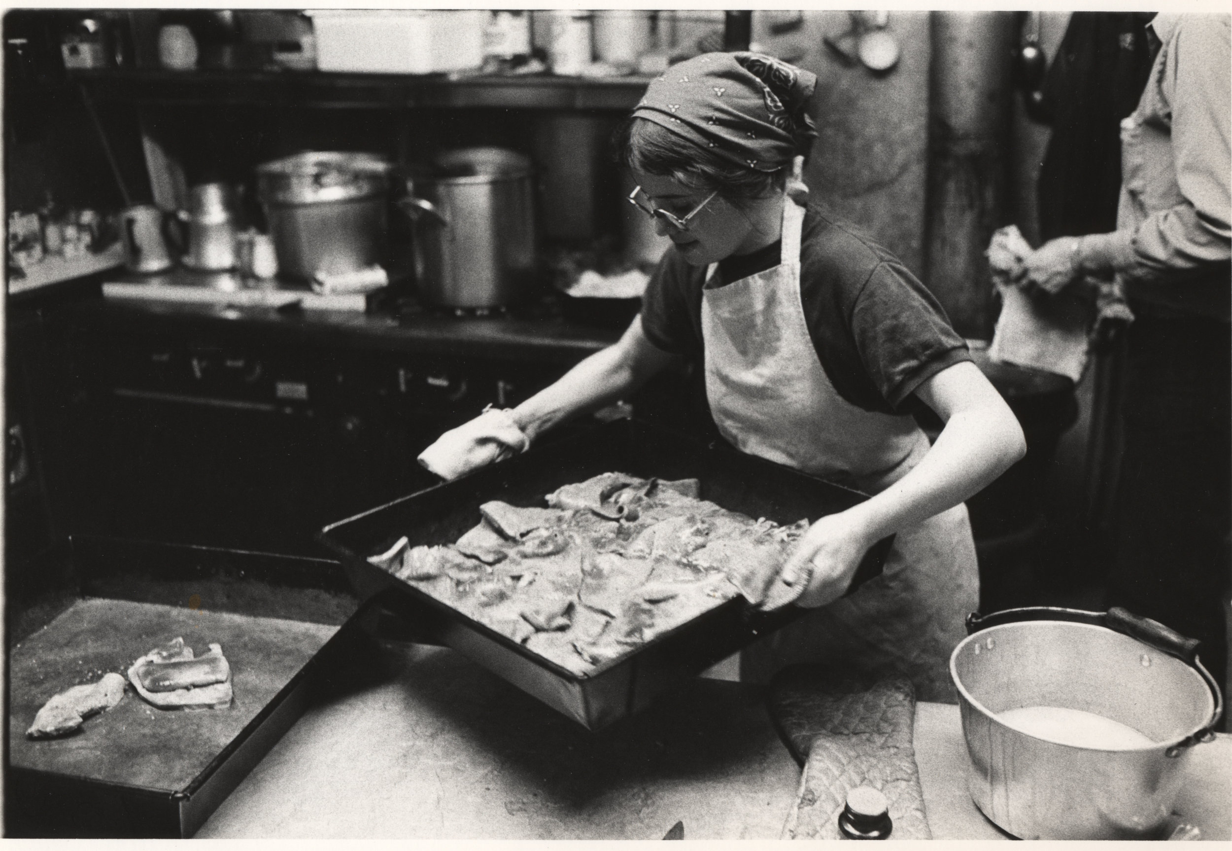 HOUSE OF HOSPITALITY kitchen woman makes lunch 1970s.jpg