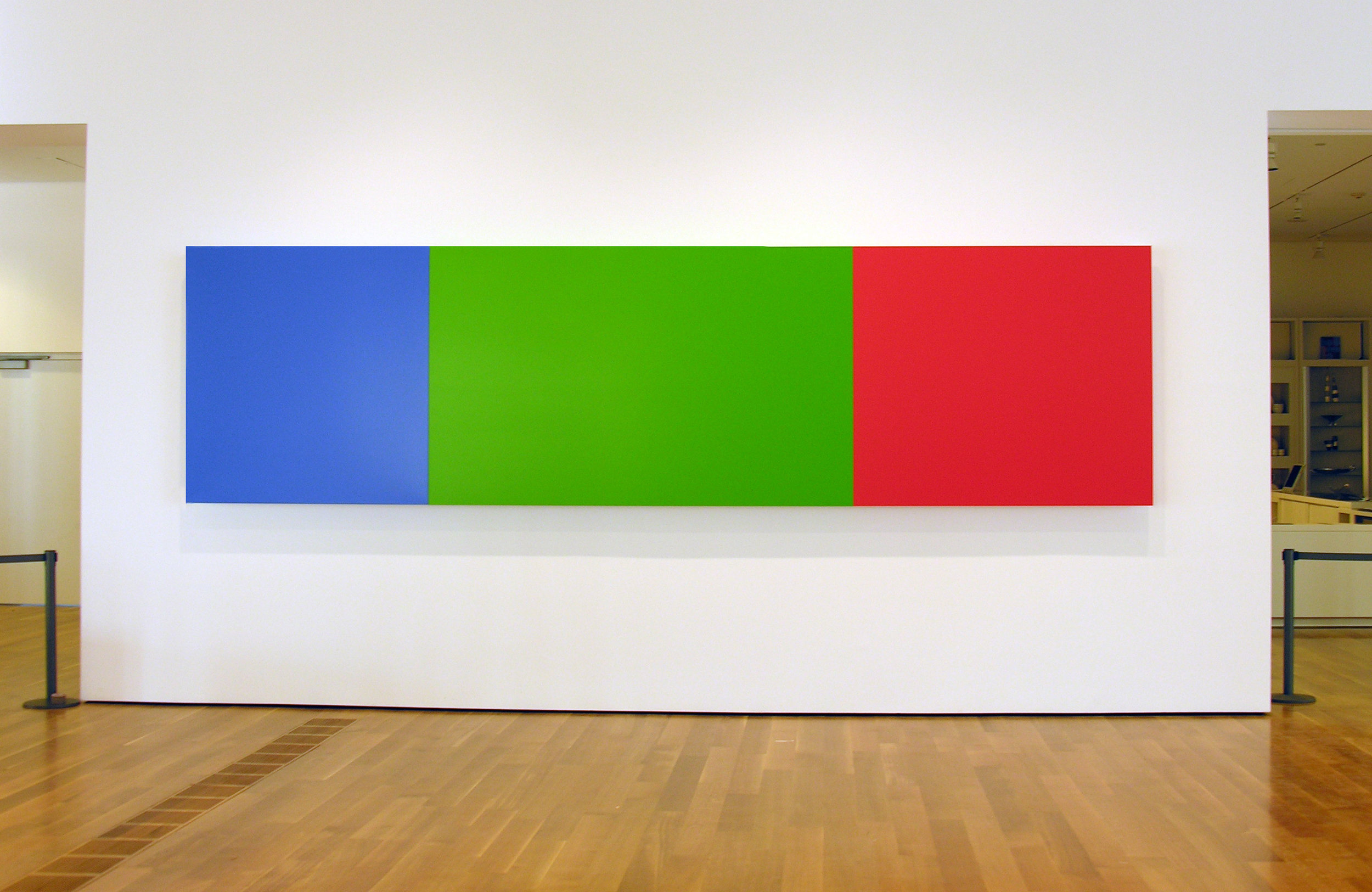 Ellsworth Kelly  (EK950) 2005  Aluminum honeycomb composite construction, finished with sprayed catalyzed acrylic urethane paint  60.75 x 230 inches      View More Ellsworth Kelly