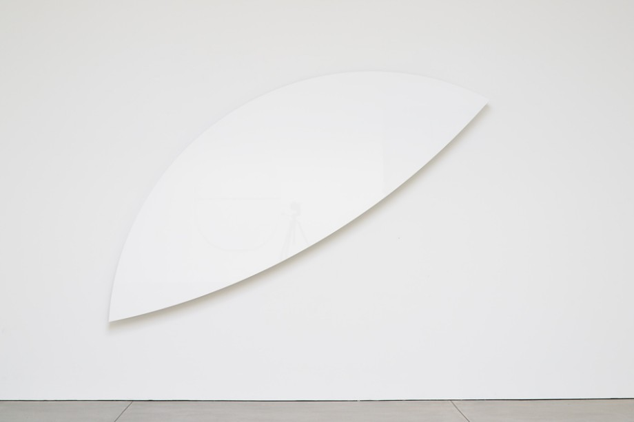 Ellsworth Kelly Two Curves 2012 (EK1046) Aluminum honeycomb composite construction Gloss acrylic urethane paint  114.125 x 74.687 x 2.875 inches      View More Ellsworth Kelly