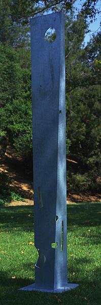 Isamu Noguchi  Pylon 1981  Galvanized steel  112 x 14 x 13 inches       View More Isamu Noguchi
