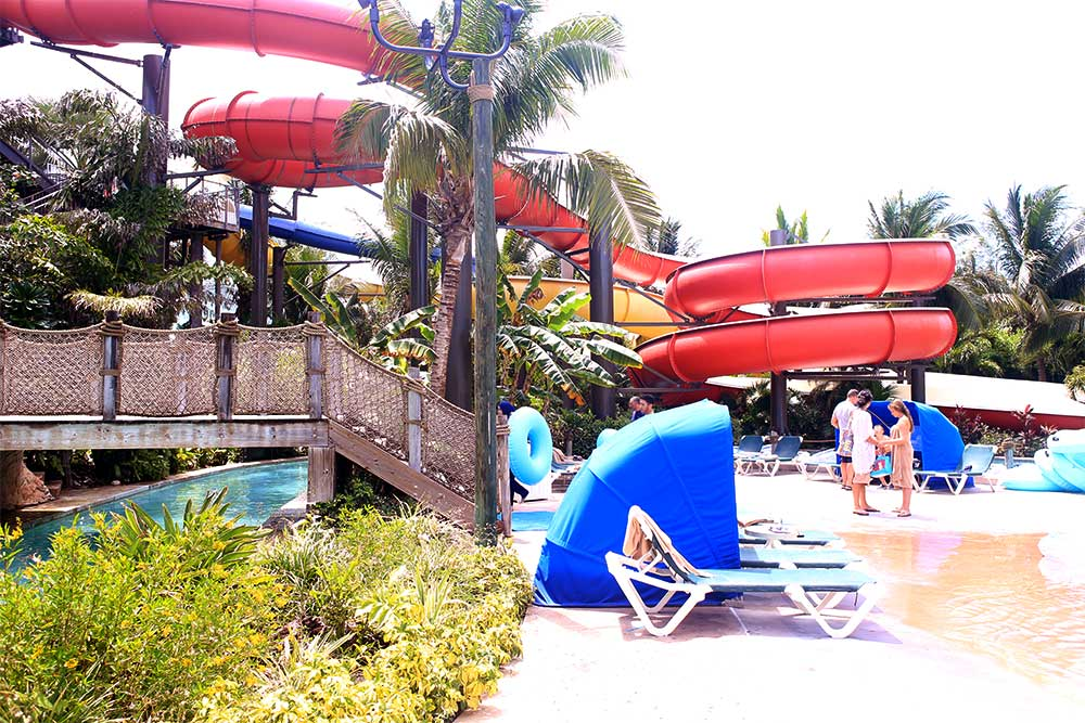 Beaches' Pirates Island Waterpark has a smart layout that packs a lot of fun into a relatively small space.