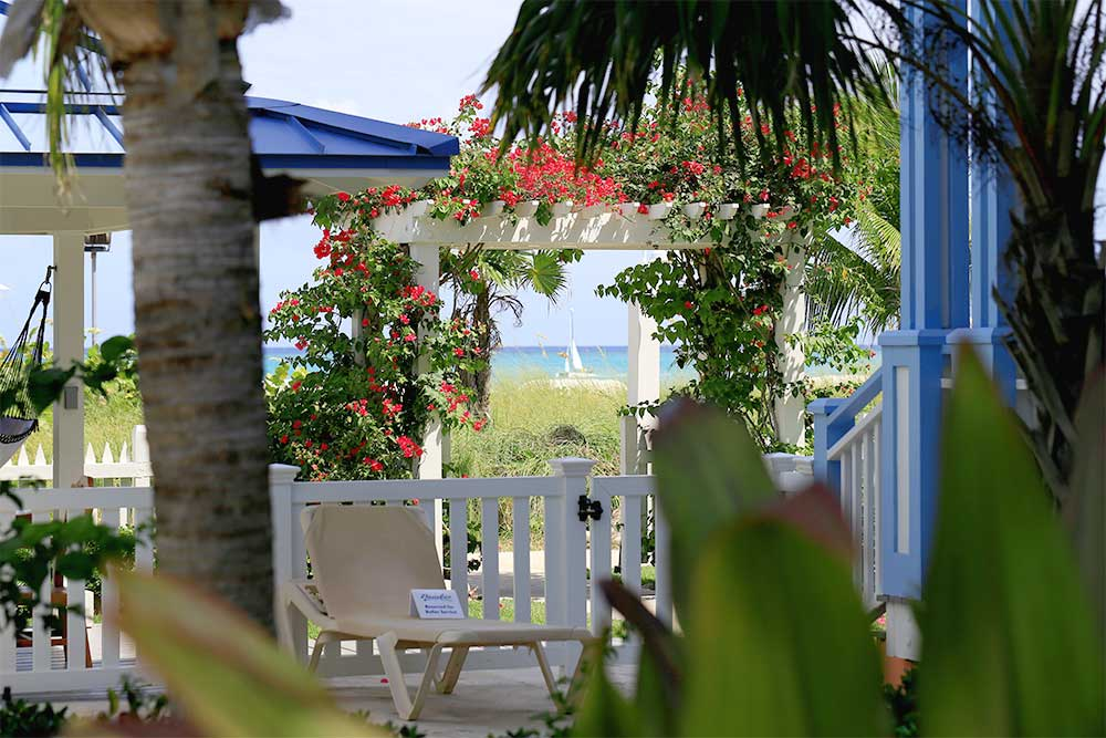 The Key West Village in Beaches Turks & Caicos resort has the most private and secluded rooms. It's also the most mellow village and there are quiet nooks to disappear into.