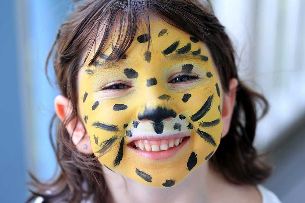 Face painting is one of many ways that Beaches' camp staff made our daughter feel special.