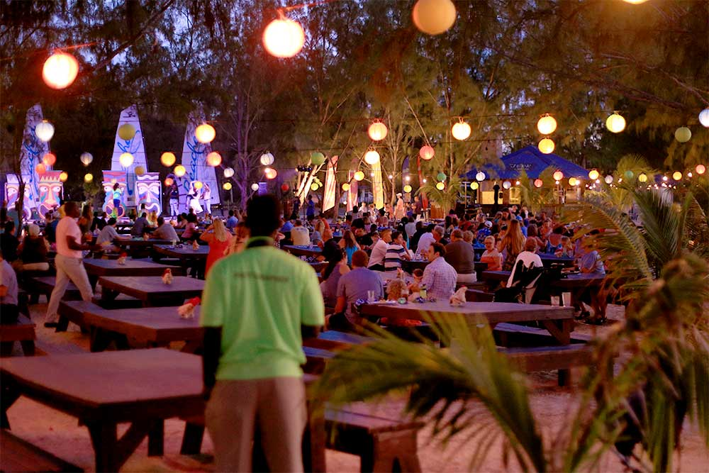 The Jerk Shack is located on Treasure Beach, home to Beaches' Friday night beach party.