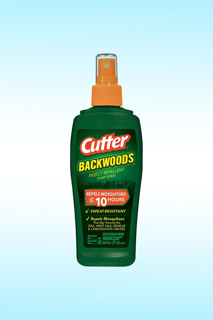 Cutter Backwoods Insect Repellent Pump Spray - Image Credit: Cutter