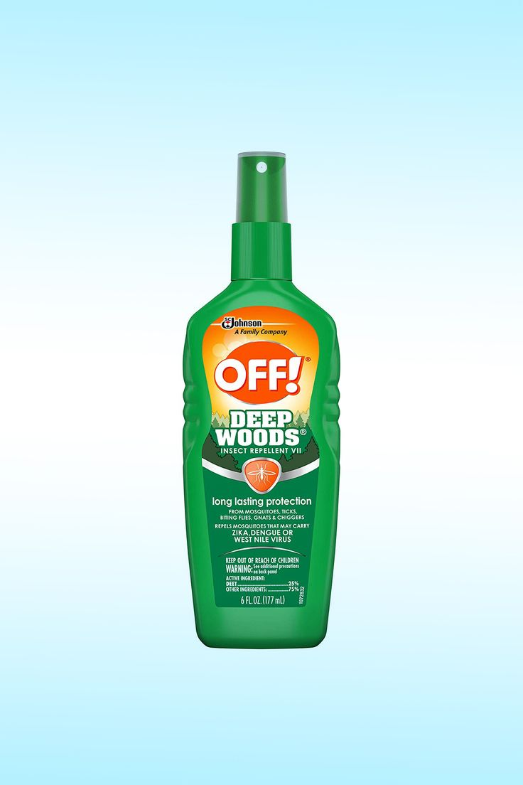 OFF! Deep Woods Insect Repellent VII - Image Credit: SC Johnson