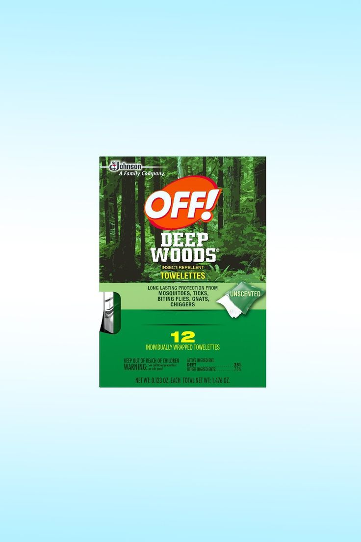Off! Deep Woods Insect Repellent Wipes - Image Credit: SC Johnson