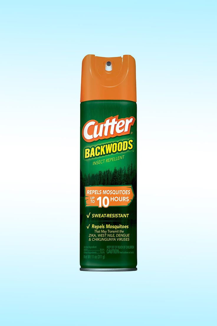 Cutter Backwoods Insect Repellent, Aerosol - Image Credit: Cutter